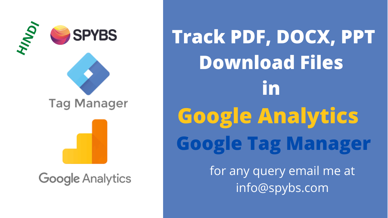PDF Tracking in Google Analytics through GTM